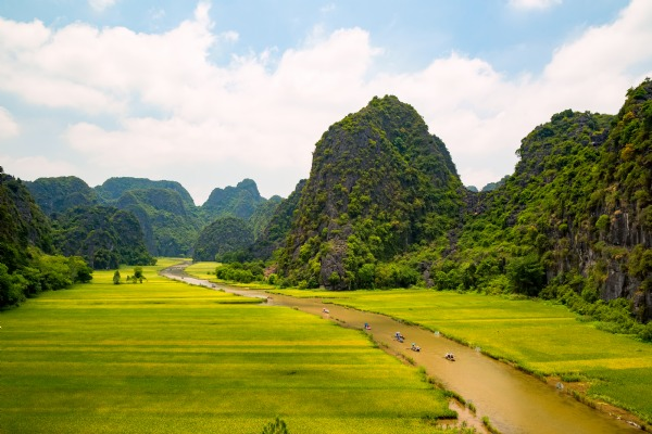 A popular destination : Ninh Binh